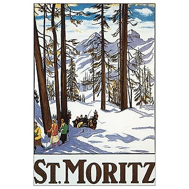 St. Moritz by Cardinaux, Canvas, 24