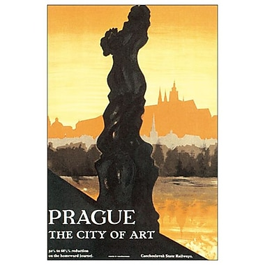 Prague The City of Art, Stretched Canvas, 24