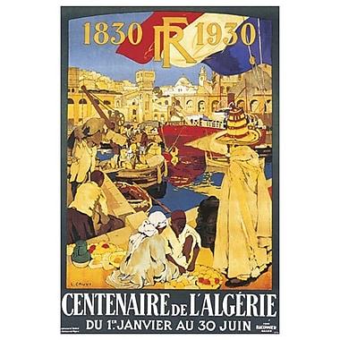 Centenaire Algerie by Cauvy, Canvas, 24