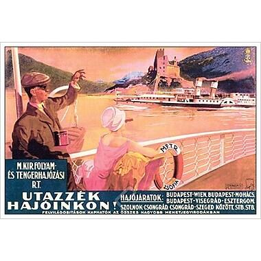 Utazzek Hajoinkon! de Satori, toile, 24 x 36 po