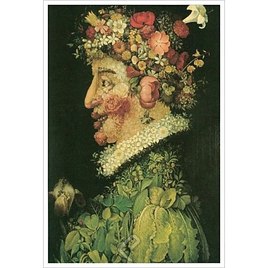 Spring by Arcimboldo, Canvas, 24