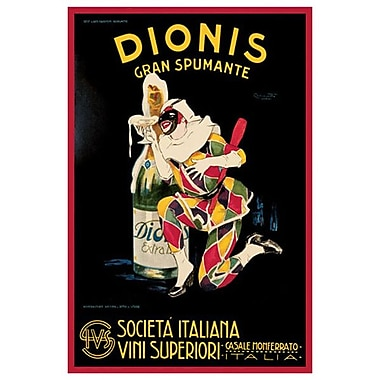 Dionis Gran Spumante, Stretched Canvas, 24