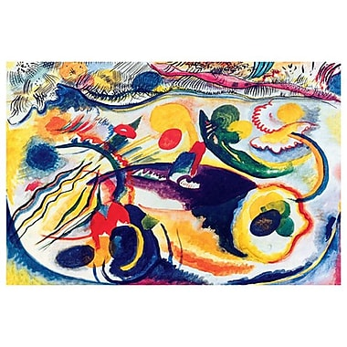 Theme Last Judgment by Kandinsky, Canvas, 24