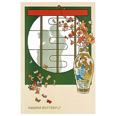 Opera Madama Butterfly, Stretched Canvas, 24