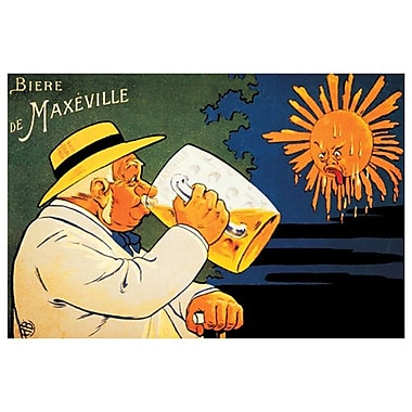 Maxeville Beer, Stretched Canvas, 24