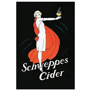 Schweppes Cider, Stretched Canvas, 24