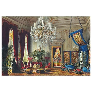 Salon Palais Clam Gallas de Goebel, toile, 24 x 36 po