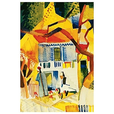 Inner Court St by Macke, Canvas, 24