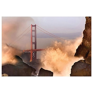 Wave San Francisco Bay by Davis, Canvas, 24