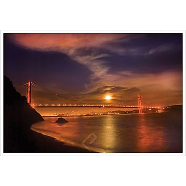 Golden Gate Moonrise by Davis, Canvas, 24
