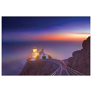 Phare de Point Reyes de Davis, toile de 24 x 36 po