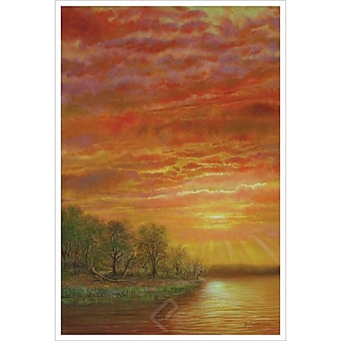 Mississippi Sunset by Glasper, Canvas, 24