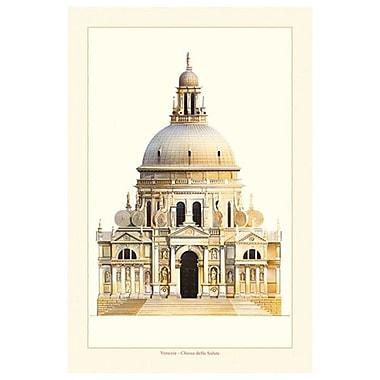 Basilique Santa Maria della Salute de Patrignani, toile de 24 x 36 po