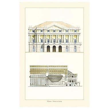 La Scala de Patrignani, toile de 24 x 36 po