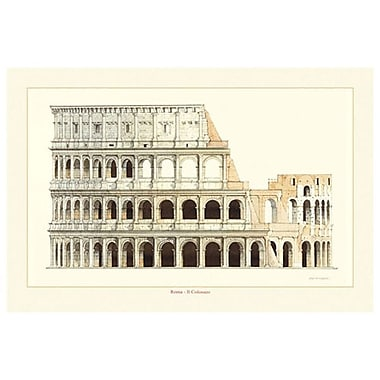 Roma Il Colosseo by Patrignani, Canvas, 24