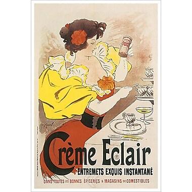 Crème Éclair, Entremets exquis, toile de 24 x 36 po