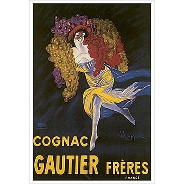 Cognac Gautier de Cappiello, toile de 24 x 36 po