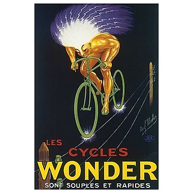 Les Cycles Wonder by Mohr, Canvas, 24