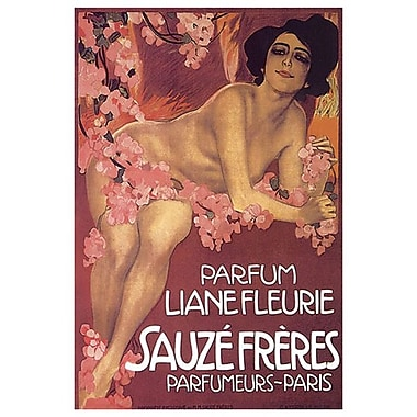 Parfum Liane Fleurie Sauze, Stretched Canvas, 24