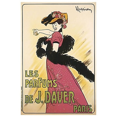 Parfums J. Davier by Cappiello, Canvas, 24