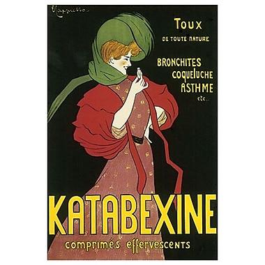 Katabexine de Cappiello, toile, 24 x 36 po
