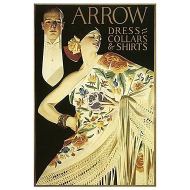 Arrow Dress de Leyendecker, toile, 24 x 36 po