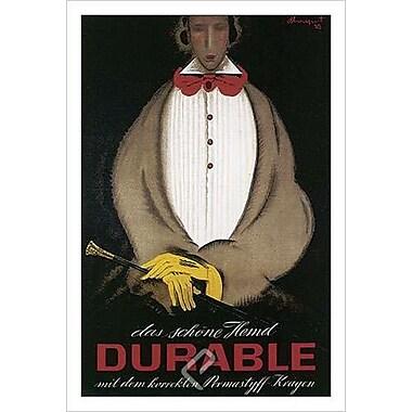 Durable Mit Das Schone Hemd, Stretched Canvas, 24