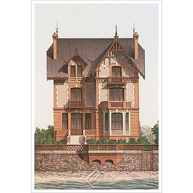 Victorian House 5, Stretched Canvas, 24