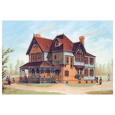 Victorian House 13, Stretched Canvas, 24