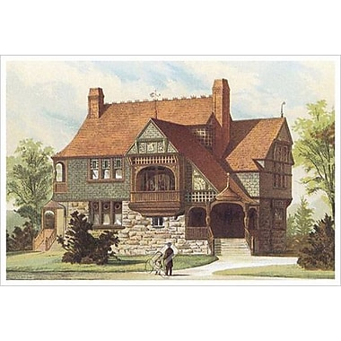 Victorian House 15, Stretched Canvas, 24
