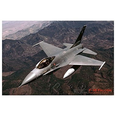 Airplane-F-16 Falcon, Stretched Canvas, 24