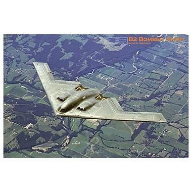 Avion B2 Bomber Spirit, toile tendue, 24 x 36 po