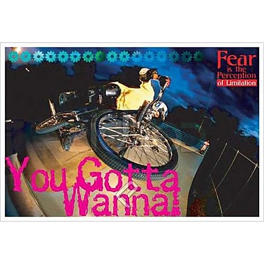 Bike - You Gotta Wanna!, Stretched Canvas, 24