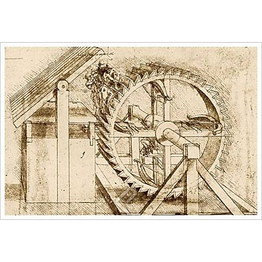 Treadmill Crossbow by da Vinci, Canvas, 24