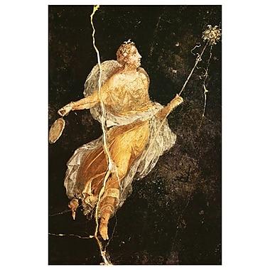 Pompeian - Fresco Menade, Stretched Canvas, 24