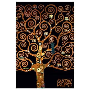 Dans l'arbre de vie par Klimt, toile, 24 po x 36 po