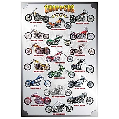 Choppers, Stretched Canvas, 24
