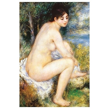 La Baigneuse by Renoir, Canvas, 24
