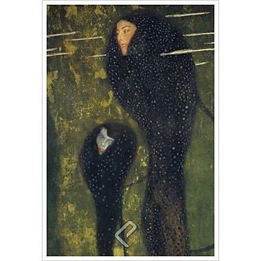 Nymphes des eaux par Klimt, toile, 24 po x 36 po
