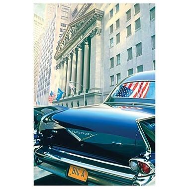 Cadillac Fleetwood par Reynolds, toile, 24 po x 36 po