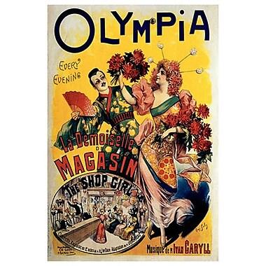 Olympia par Galice, toile, 24 po x 36 po