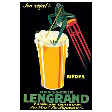 Brasserie Lengrand, Stretched Canvas, 24