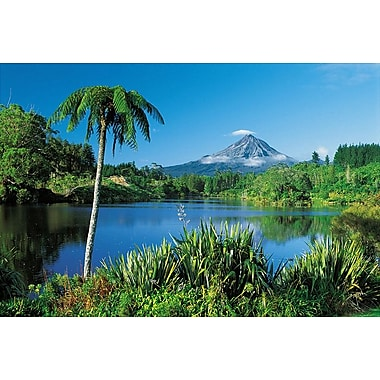 Mount Taranaki New Zealand, Stretched Canvas, 24