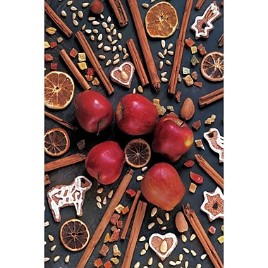 Apple and Cinnamon, Stretched Canvas, 24