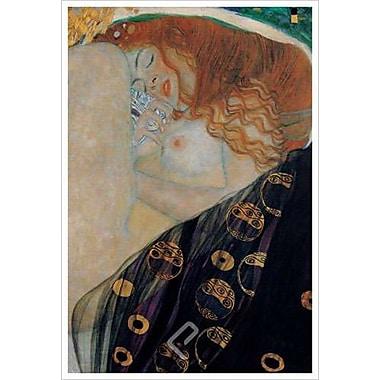 Danaé par Klimt, toile, 24 po x 36 po