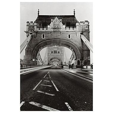 Tower Bridge de Londres, toile 24 po x 36 po