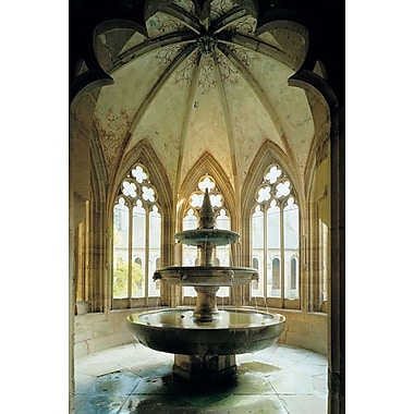 Basilica Fountain, Stretched Canvas, 24