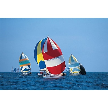 Full Sail Ahead, Stretched Canvas, 24