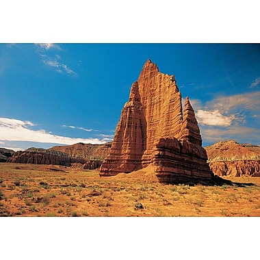 Cathedral Valley Utah, Stretched Canvas, 24