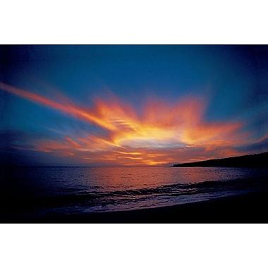 L'Île de Lanai, Hawaii, toile tendue, 24 x 36 po